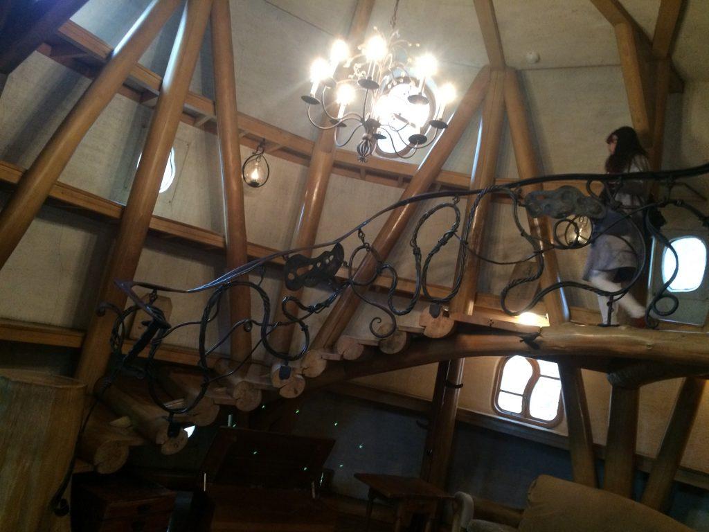 ムーミンの家内部スロープ