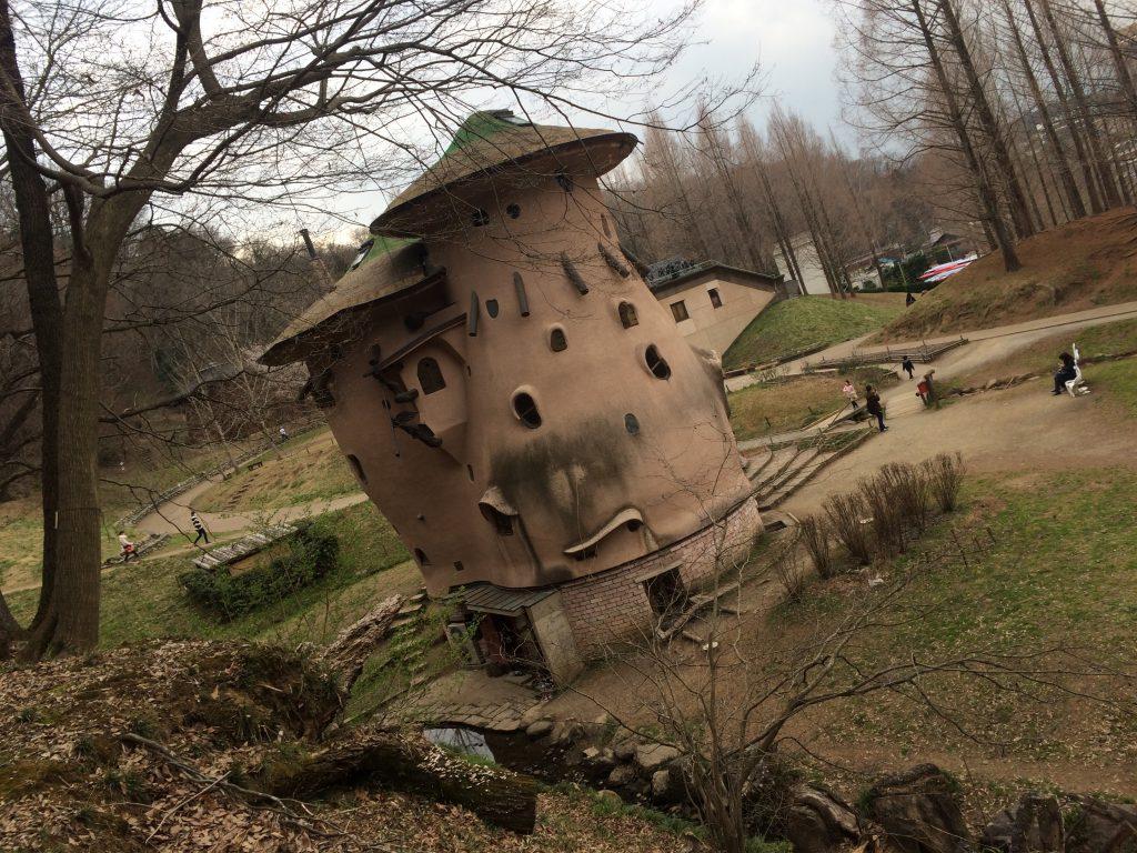 あけぼの公園ムーミンの家