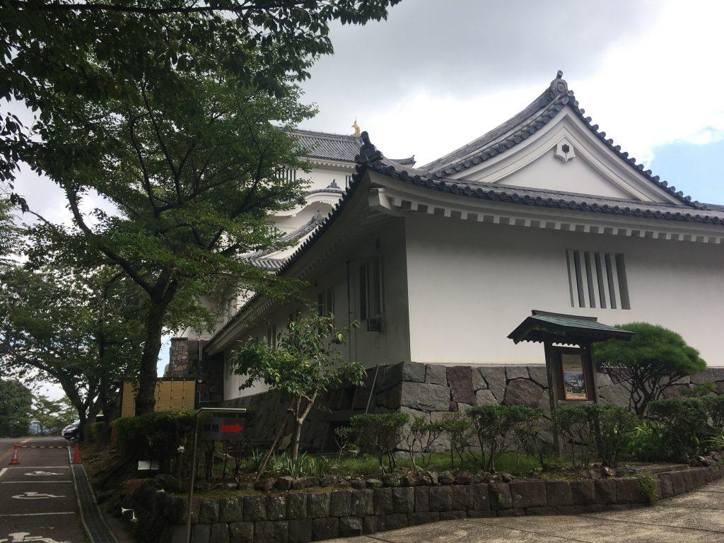 千葉県立中央博物館大多喜城分館外観