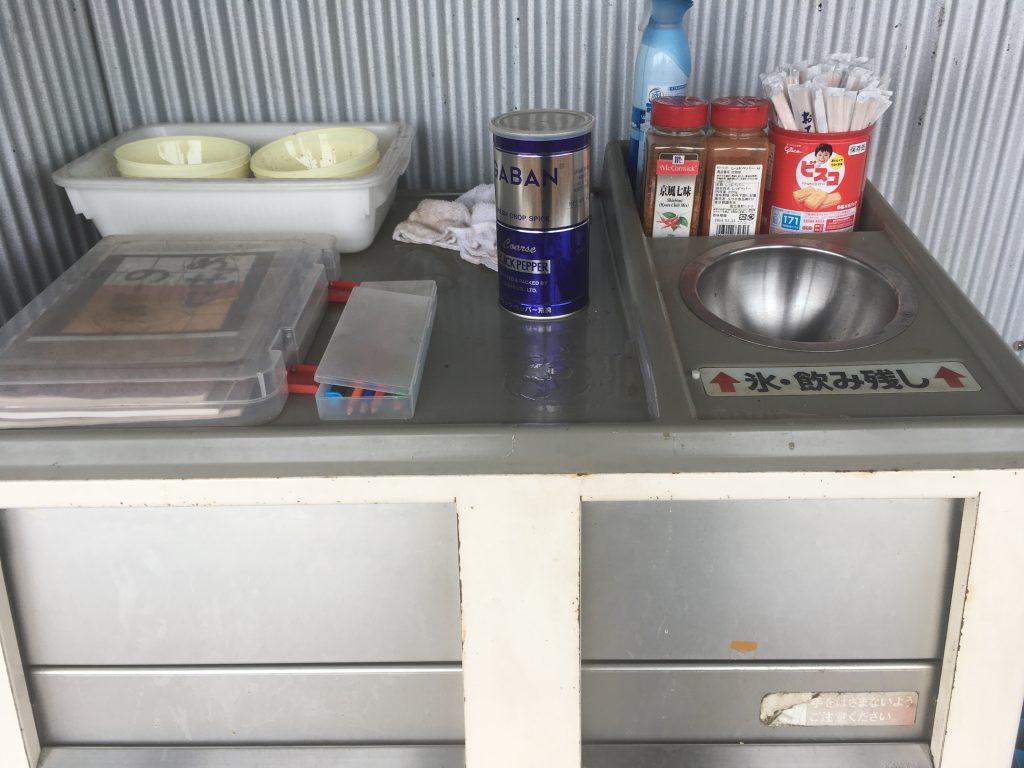 薬味とゴミ箱