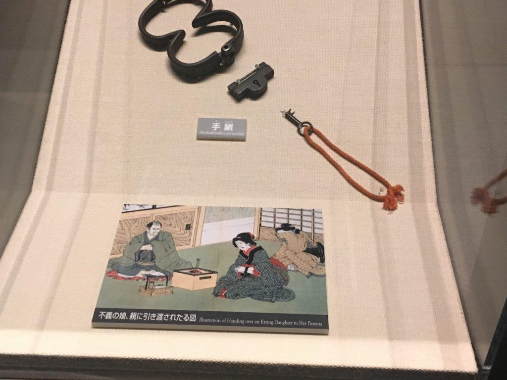 江戸時代 手錠