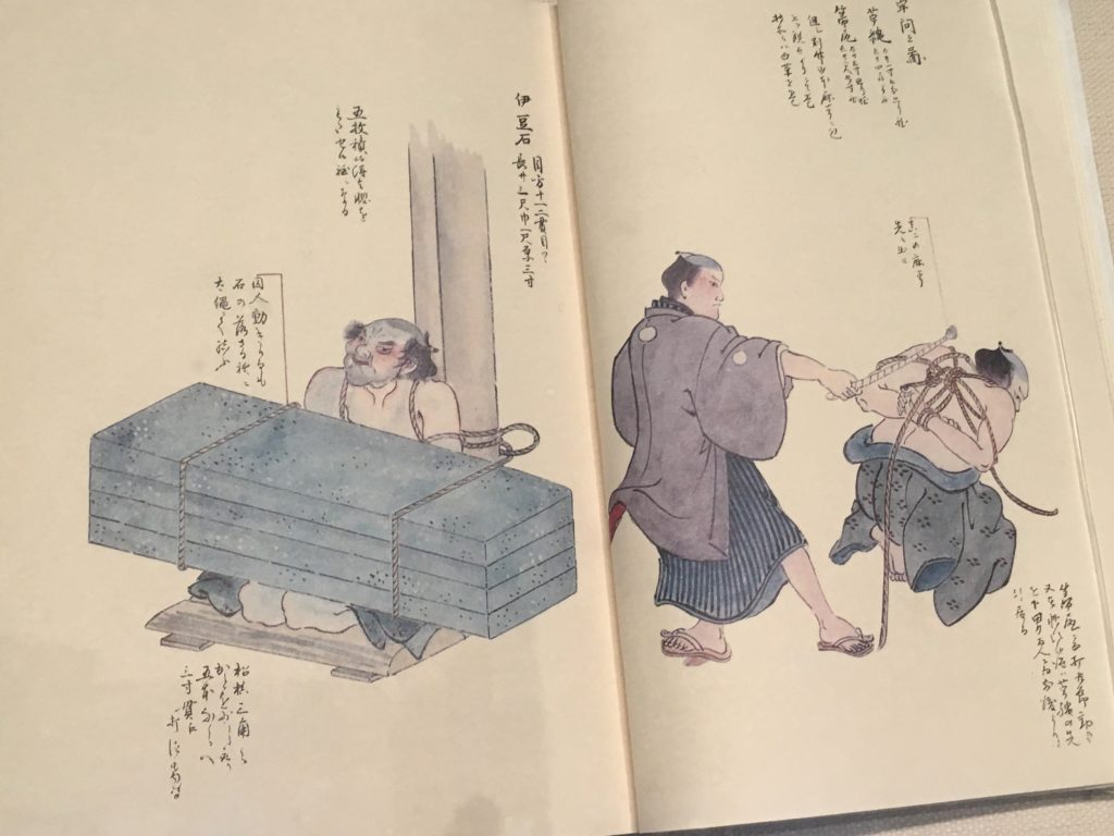 江戸時代の刑絵図