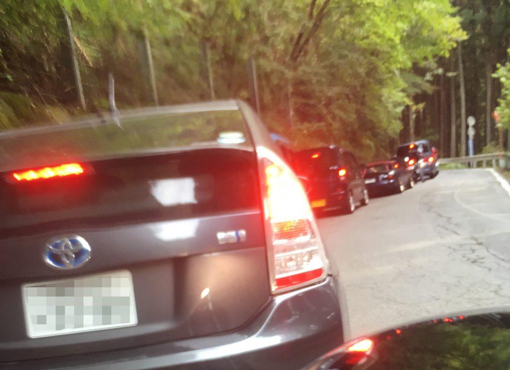 三峯神社渋滞