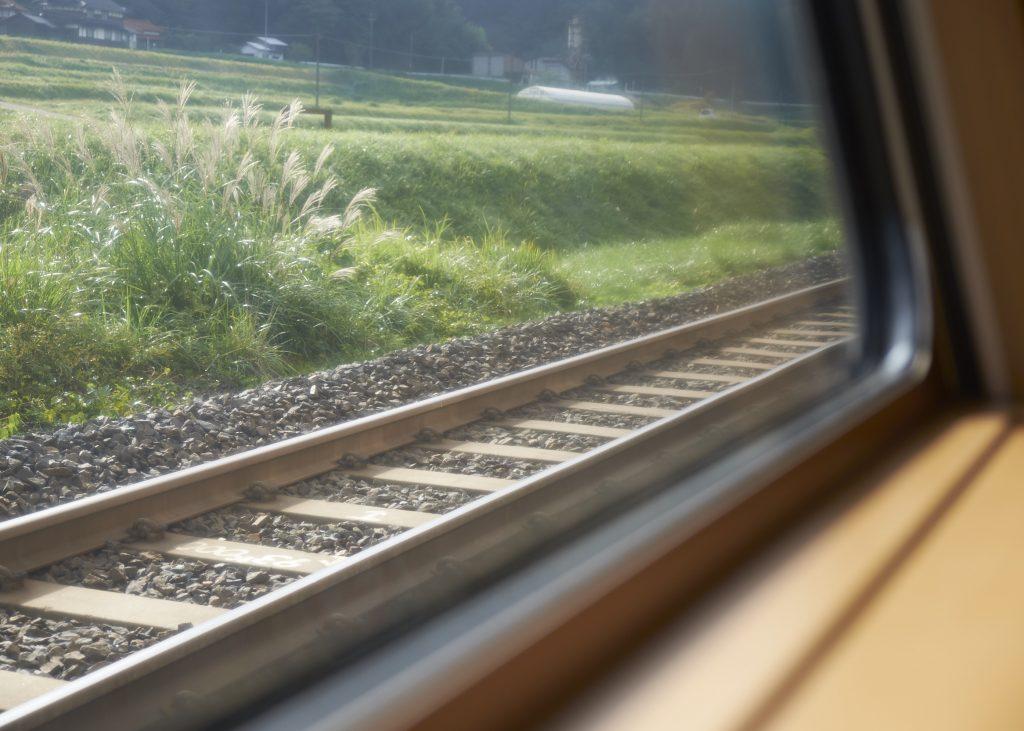 中国地方車窓